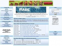 magic-league.com magic gathering decks deck