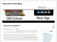 Francesco Piras Blog | Biblioteche, informatica, web