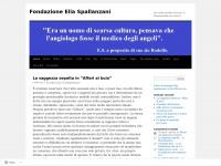 Fondazione Elia Spallanzani | per vedere quello che non c'è, bisognerebbe non esserci