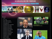 "ACACOLACH.COM  ""THE VISIONARY"" - CALCIO"