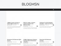 Home Page - Blog msn la guida non ufficiale al Blog msn