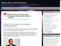 """Tikkun Fenix Political Journal   """"La politica è l'unica professione senza una specifica formazione. I risultati sono di conseguenza."""""""