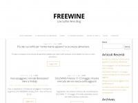 Freewine.eu - Freewine, low sulfite wines - Blog
