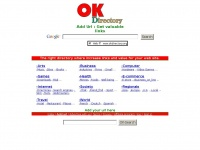 Okdirectory.org - OK web directory : add url here. Increase your links.