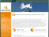 Cvaltolambro.it - .: Centro Veterinario Alto Lambro - Home Page :.