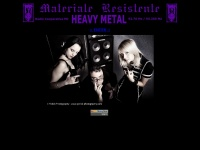 MATERIALE RESISTENTE --- HEAVY METAL--- RADIO COOPERATIVA