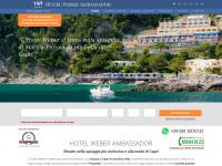 Hotel Weber Ambassador Capri - L'Albergo sulla Spiaggia