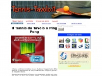 tennis-tavolo.it ping pong balilla
