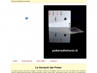 POKER E DINTORNI .IT - Le Varianti del Poker