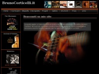 Brunocorticelli.it - Bruno Corticelli, Homepage