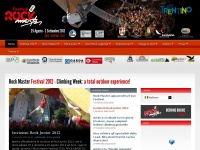 Rock Master Festival - Arco, Trentino. Climbing Week: a total outdoor experience!