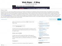 Web Major  - il Blog   Il nuovo modo di comunicare sul Web