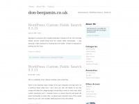 don-benjamin.co.uk plugins php