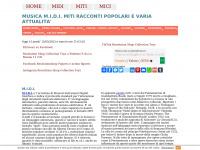 Midi-miti-mici.it - M.I.D.I., Miti, Mici, webzine di cultura musicale, cultura di scienze umane e varia miceria