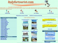 Italy for Tourist il portale internet  per il turismo in Italia e il