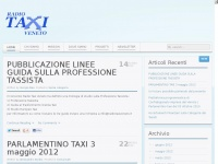 TaxiVeneto La voce dei tassisti Veneti