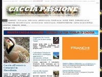 cacciapassione.com