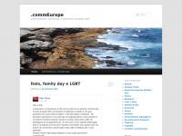 .commEurope   .communication, .community, e.commerce, European style
