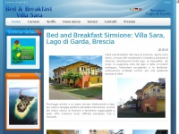 Bed and Breakfast Sirmione: Villa Sara, Lago di Garda, Brescia - Bed and Breakfast Sirmione: Villa Sara, Lago di Garda, Brescia
