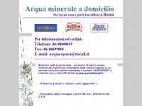 Acqua domicilio acqua minerale a domicilio a roma for Acqua minerale a domicilio roma