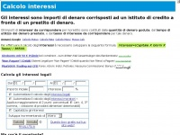 calcolo-interessi.it