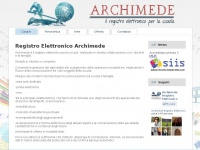 Registro Elettronico  Archimede | www.registroelettronicoarchimede.it