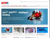 tesa - Manufacturer of Adhesive Tapes for Industry, Craftsmen, and Consumer.