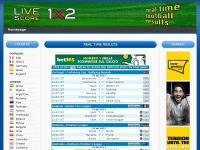livescore1x2.net results livescore football