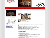 Filarmonica marchigiana - Form Home Page
