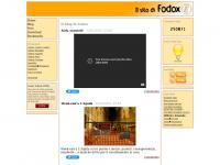 Homepage del sito di Fodox