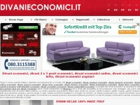 divanieconomici.it divani classici divano ecopelle tessuto