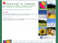 vacanzeincadore.it