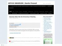 OFFICE OBSERVER | Danilo Premoli