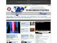 The New European Citizen Press -   Testata giornalistica telematica di cultura, spettacolo, sport, cinema, attualità e politica