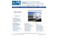 Iecee.org - IECEE - IEC System of Conformity Assessment Schemes for Electrotechnical Equipment and Components