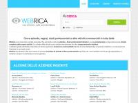 Webrica.it - web directory delle aziende italiane