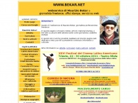 www.bekar.net - webservice di Maurizio Bekar: giornalista freelance, uffici stampa, servizi web