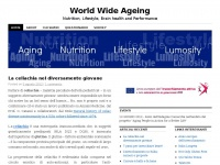 World Wide Ageing | Nutrition, Lifestyle, Brain health and Performance