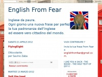 English From Fear