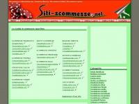 Siti scommesse | On line betting sites | Scommesse directory | Siti scommesse Italiani | Siti scommesse sportive