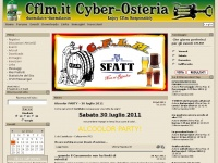 Cflm.it - CFLM - Cyber Osteria | Home