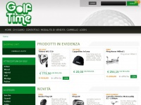 Golftimeonline.it - Golf Time Treviso golf, mazze da golf, accessori golf, set golf