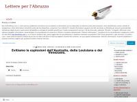 Lettere per l'Abruzzo