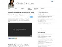 Cinzia Bancone