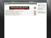 Lshunter.tv - LSHunter TV -  Live Streaming Video / Watch Free Live Sport Streams - Football