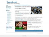 Oracoli .net - il sito dell'oracolo gratis on line