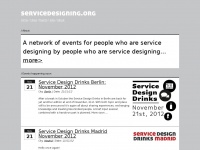 servicedesigning.org designing experienced