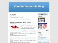 Claudio Demarinis Blog