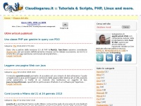 Claudiogarau.it :: Tutorials, Scripts, PHP, Linux and more.