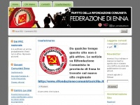 Rifondazione Comunista Enna | Partito della Rifondazione Comunista – Federazione di Enna